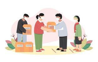 activités de soutien social vecteur