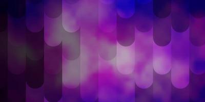 texture de vecteur rose clair, bleu avec des lignes.