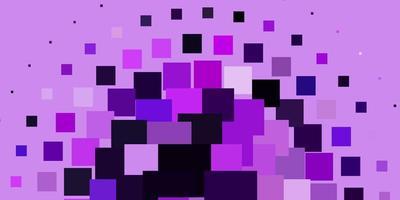 toile de fond de vecteur violet clair avec des rectangles.