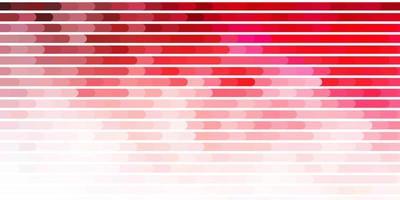 modèle de vecteur rose clair, rouge avec des lignes.