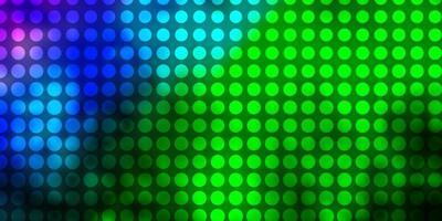 texture de vecteur rose clair, vert avec des cercles.