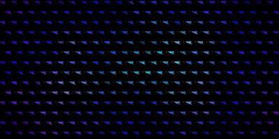 modèle vectoriel rose foncé, bleu avec un style polygonal.