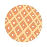 style de bloc de motif organique de lignes et de points
