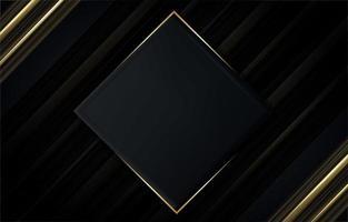 élégant fond noir vecteur