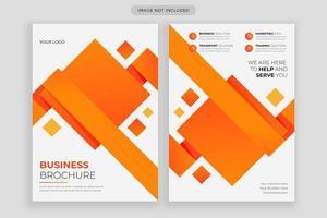 modèle de conception de flyer d'entreprise, couverture d'affiche de brochure créative, flyer prêt à imprimer couleur a4