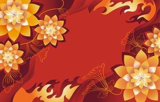 fond de fête du nouvel an chinois vecteur