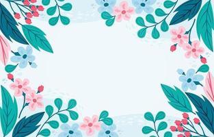 conception de fond de fleurs vecteur