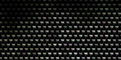 fond de vecteur gris clair avec des triangles.