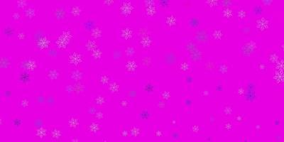 motif de doodle vecteur rose clair, vert avec des fleurs.