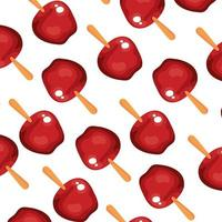 fond de délicieuses pommes de bonbons
