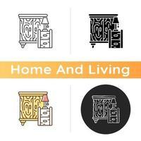 icône de meubles en bois