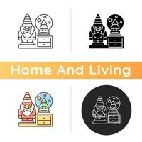 icône de figurines décoratives