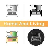 icône de textile de maison vecteur