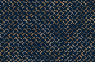 motif de contour marron metaballs vecteur