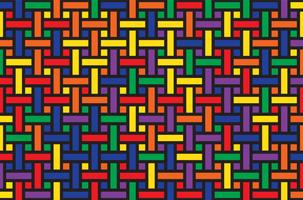 motif de rayures colorées vecteur