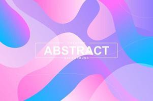 conception de fond abstrait avec des formes liquides dynamiques. vecteur