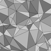 motif abstrait de triangles gris clair et foncé sans soudure vecteur