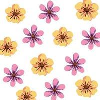 fond de fleurs mignonnes nature