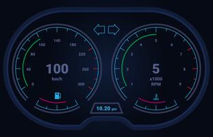 Interface utilisateur Hud et éléments infographiques