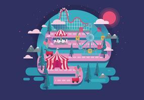 Roller Coaster Vol 2 vecteur