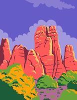 Parc national de Canyonlands à Moab Utah