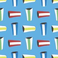 motif de fond de texture transparente de vecteur. dessinés à la main, colorés sur fond bleu.