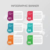 conception de vecteur d'élément infographique entreprise