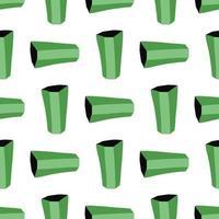 motif de fond de texture transparente de vecteur. dessinés à la main, couleurs vertes, blanches, noires.