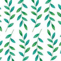 fond de branches avec décoration de feuilles