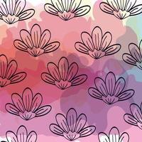 fond de fleurs mignonnes naturelles
