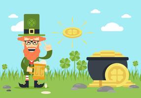 St Patricks Day fond