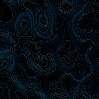 Abstrait avec des lignes topographiques vecteur