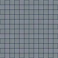 modèle sans couture géométrique abstrait de vecteur de carrés rayés. répétition des carreaux géométriques. lignes verticales et horizontales
