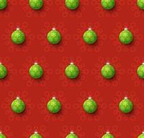 illustration vectorielle de Noël covid transparente motif. protection contre les virus et concept de joyeux Noël. vecteur du nouvel an 2021 et coronavirus covid-19 pendant la pandémie