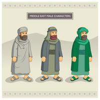 Personnages masculins du Moyen-Orient