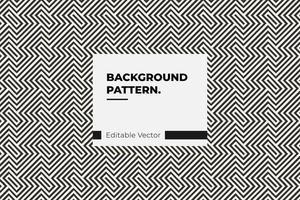 motif de rectangle imbriqué vecteur