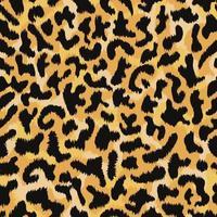 motif de peau de léopard. vecteur