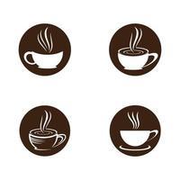 images de logo de tasse de café