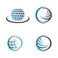 images de logo de globe vecteur