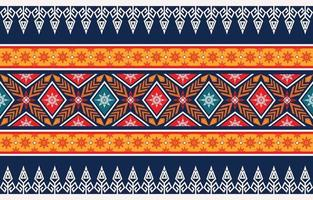 conception de motif géométrique ethnique abstrait pour le fond