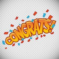 Félicitations Bubble Design