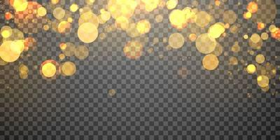 Élément de lumière floue abstraite pouvant être utilisé pour la décoration de la couverture bokeh