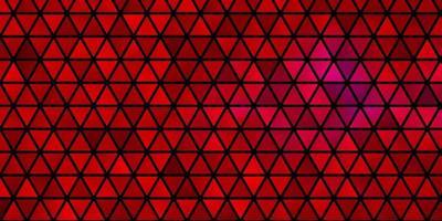 fond de vecteur rose clair avec des triangles.