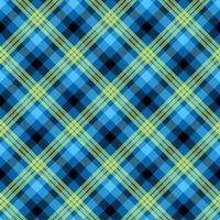 modèle vectorielle continue de couleur bleu tartan vecteur