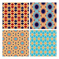 motif de géométrie islamique vecteur