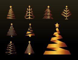 paquet d'arbres de Noël