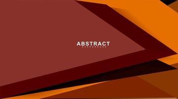 fond de vecteur abstrait avec des formes angulaires