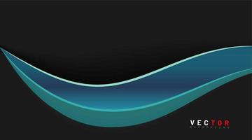 fond de vecteur abstrait. modèle incurvé de forme de concept. texture de vague. illustrations vectorielles pour fonds d'écran, bannières, arrière-plans, etc.
