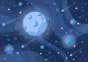Contexte de conception de Cosmos vecteur