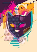 Chat pop art